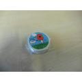 Poppy erasers 75p