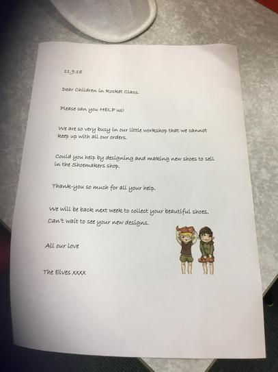 A letter from the Elves...