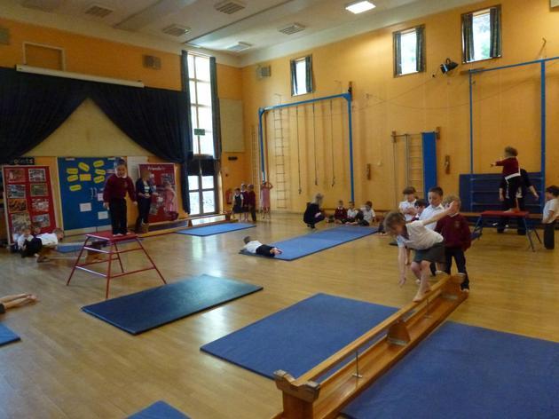 Hall as a gymnasium