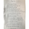 A lovely poem Remey - and what neat presentation!