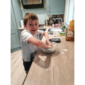 Kieran has been very busy baking!