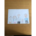 A family portrait by Millie