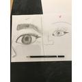 Excellent sketching skills Elsie