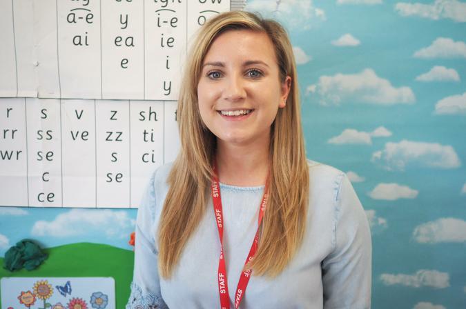 Miss Hill - Chestnut Class Teacher