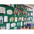 Elmer Library Display