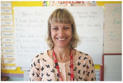 Mrs Lockwood is our Teaching Assistant