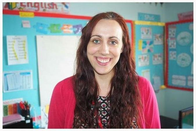 Mrs Beach is our Class Teacher
