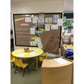 Writing and mark making area