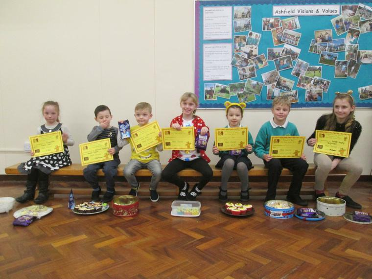 Winners of our Pudsey Bear Bake Off