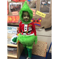 Even the Grinch showed up!