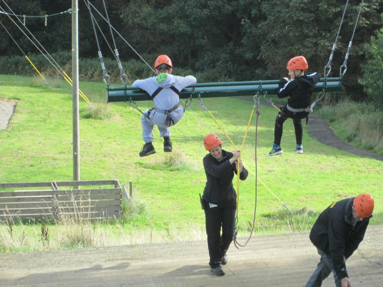 The high swing