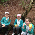 Biscuits and juice back at base camp.