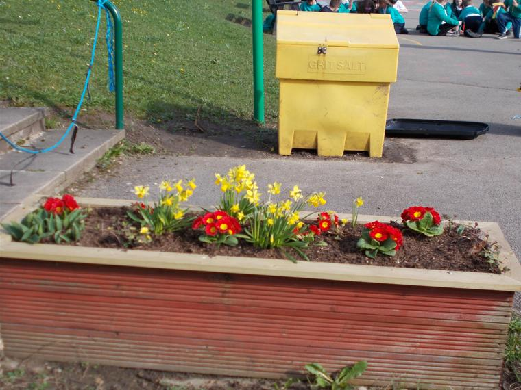We've spruced up the planters