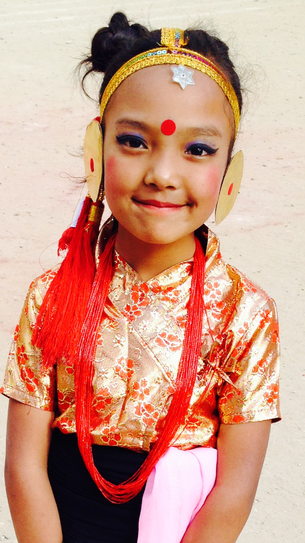 Traditional Himalayan Dress
