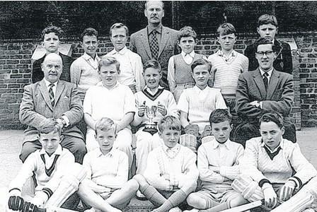 Cricket Team - early 1960s