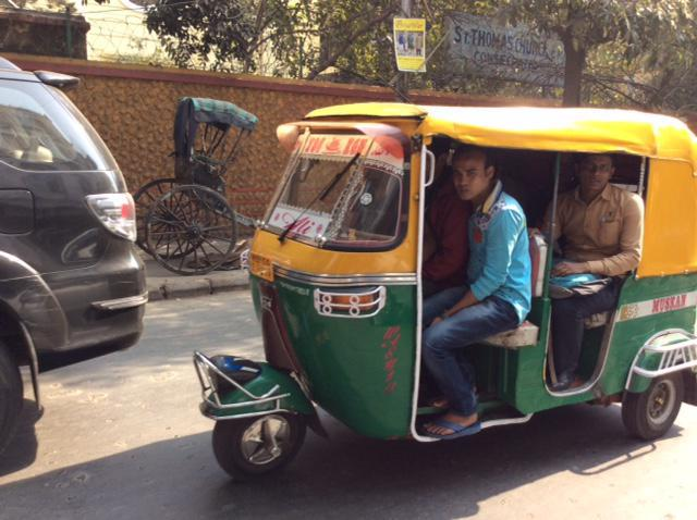 A local 'tut tut' taxi