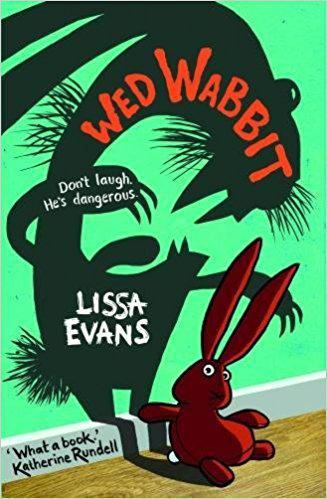 Cover of Wed Wabbit, donated to the school library by author Lissa Evans