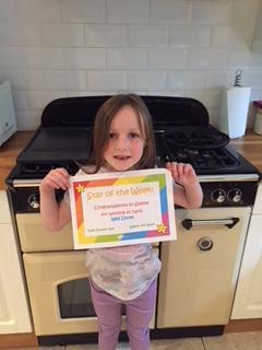 Sophie's certificate