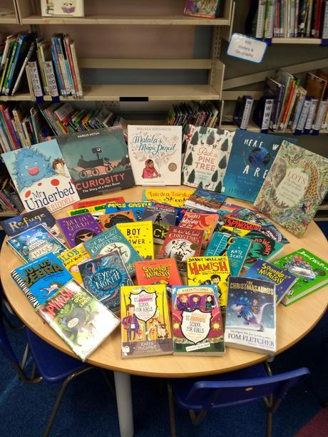 Books donated for Jolabokaflod '17