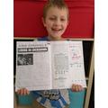 Stanley's well written newspaper report