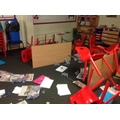 Our classroom was ruined!