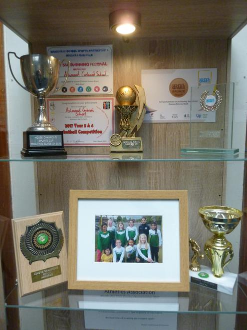 Inside the trophy cabinet