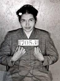 Rosa Parks imprisoned