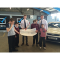 Students receive another Motorline Direct cheque