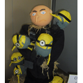 Close up of Gru and the Minions by Class 11