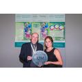 Charlotte Young recieves Award from Joe McCann