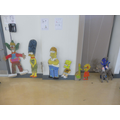 Th Simpsons by Class 7