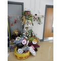 Natural Materials Scarecrow by Classes 1 and 2
