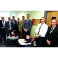 Ashmount pupils and The Wooden Spoon Society