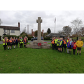 A visit to our local war memorial to find the names of our local fallen soldiers