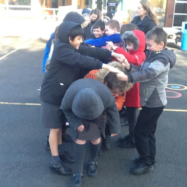 Blue Class exploring Science through drama