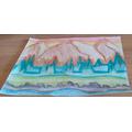 Emily's  beautifully shaded mountain scene
