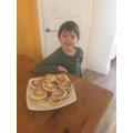 Felix made welsh cakes