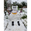 Mrs Taylor and her son made Jeremy, the Hawaiian Snow Trooper on Sunday