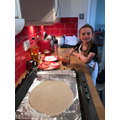 Olivia has been busy baking!