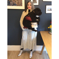 Mrs Franklin as Cruella DeVil from The Hundred and One Dalmations