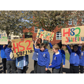 Year 5 Protesting