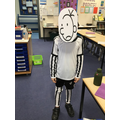 Harry as Greg from The Diary of a Wimpy Kid