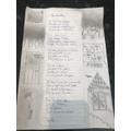 Abi's illustrated Listeners poem