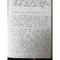 Margot's fantastic diary entry