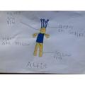 Oto's second Alien 'Alfie'
