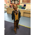 Leo as Fantastic Mr Fox