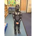 Nathaniel as Black Panther