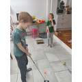 Sam M has been playing some indoor golf!