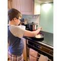 DT pancake making