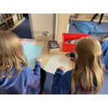 Creating interactive displays for visitors to the library